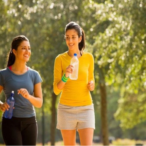 Lose weight faster by walking or running shoes