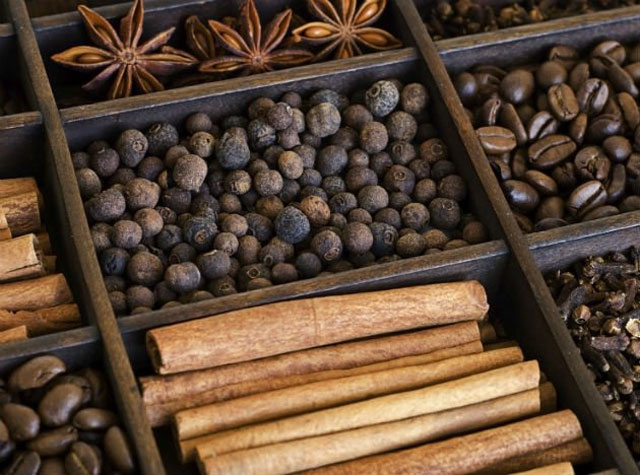 Cinnamon and cloves,snacks