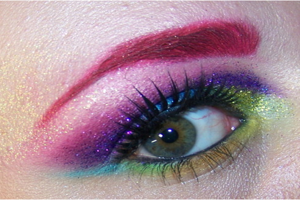 Trend: COLORED eyebrows!!Will you give it a TRY..,nails growth