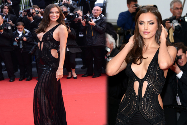 Not much left to the imagination...Irina Shayk @ cannes!      ,Keira Knightley and Scarlett Johansson naked