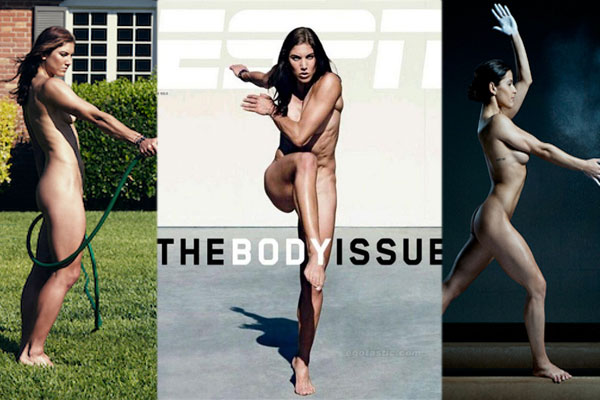 Naked Stars: Not a secret Anymore! Hope Solo,Keira Knightley and Scarlett Johansson naked