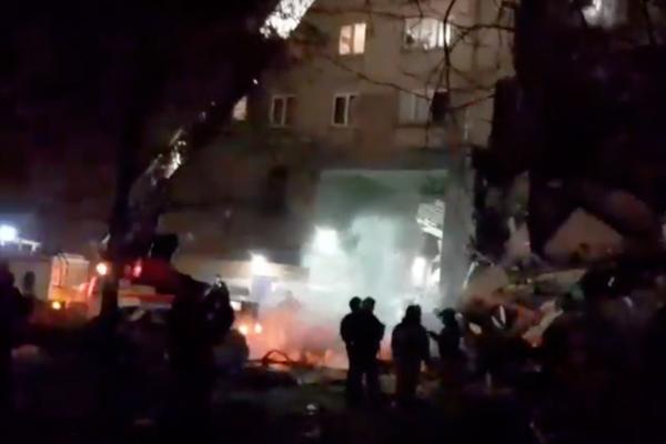 रूस : 10 मंजिला इमारत में गैस विस्फोट, 2 की मौत