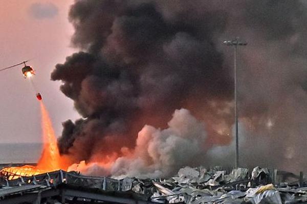 बेरुत विस्फोट मामले में बंदरगाह के 3 अधिकारी गिरफ्तार