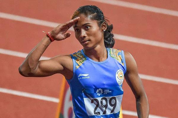 इंडियन ग्रां प्री : हिमा ने 100 मीटर में जीता स्वर्ण