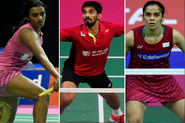 बैडमिंटन : सायना, सिंधु, श्रीकांत एशियाई चैम्पियनशिप के क्र्वाटर फाइनल में