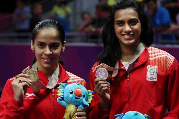 राष्ट्रमंडल खेल (बैडमिंटन) : सायना ने जीता सोना, सिंधु को रजत