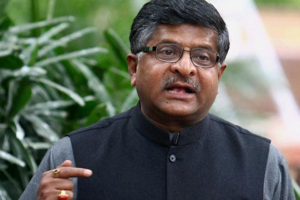 इमरान खान की भाषा का प्रयोग कर रही कांग्रेस : रवि शंकर प्रसाद