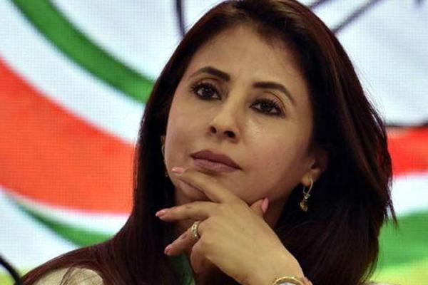 बॉलीवुड अभिनेत्री उर्मिला मातोंडकर ने छोड़ दी कांग्रेस