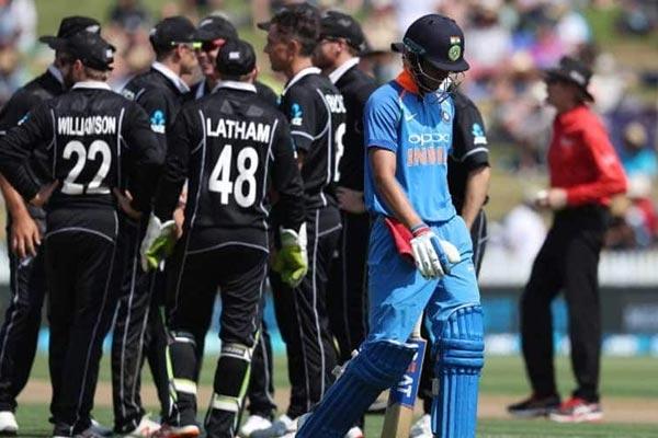 हेमिल्टन वनडे : न्यूजीलैंड ने दी भारत को सबसे बड़ी हार