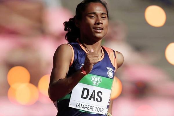 एथलेटिक्स : हिमा ने एक सप्ताह के भीतर जीता दूसरा अंतर्राष्ट्रीय स्वर्ण