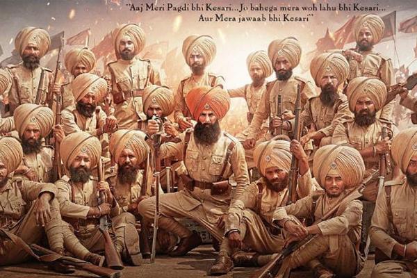 'केसरी' की शूटिंग पूरी, 21 मार्च को रिलीज होगी