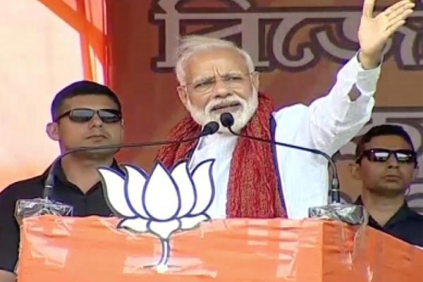 भारत के 2 प्रधानमंत्री चाहने वालों की सहायता कर रहीं ममता : मोदी
