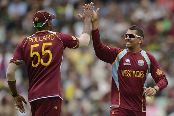 भारत के खिलाफ पहले दो टी-20 मैच के लिए नरेन, पोलार्ड की वापसी