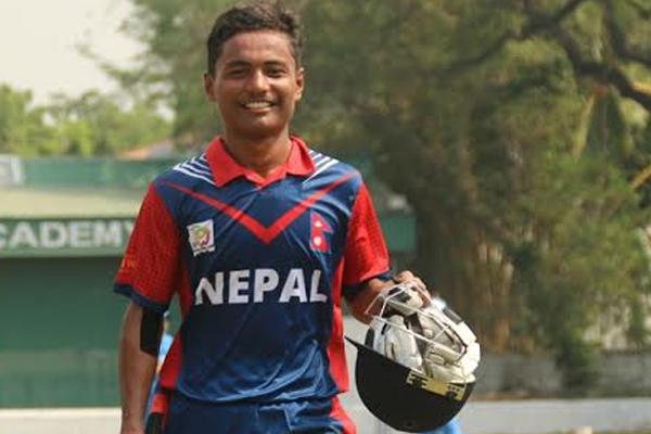 सबसे कम उम्र में अर्धशतक लगाने वाले बल्लेबाज बने नेपाल के रोहित