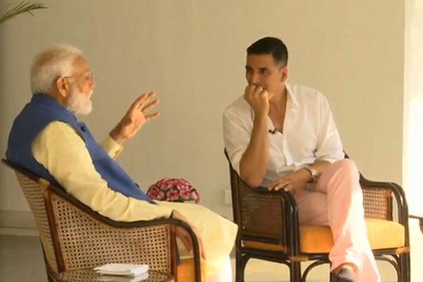 मोदी ने अक्षय से कहा, 'प्रधानमंत्री बनने के बारे में कभी नहीं सोचा था'