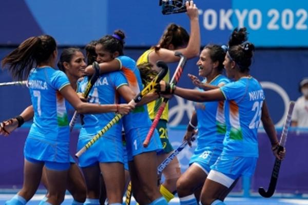 ओलंपिक (महिला हॉकी) : भारत इतिहास रचते हुए सेमीफाइनल में, अब अर्जेटीना को हराने के बारी