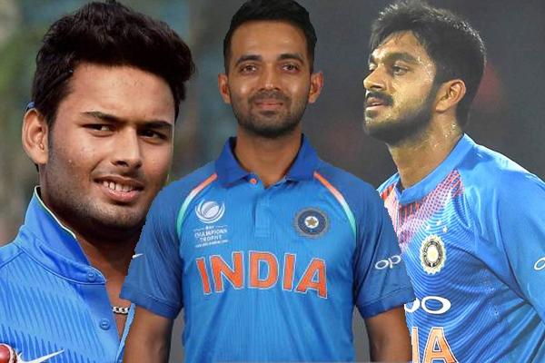 विश्व कप टीम में शामिल हो सकते हैं पंत, शंकर, रहाणे : प्रसाद