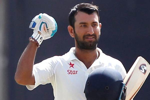 पुजारा ने टेस्ट मैच में हासिल की उपलब्धि
