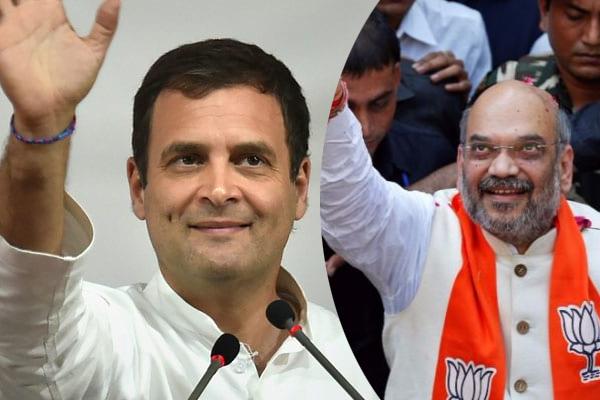 राहुल, शाह ने मतदाताओं से वोट डालने की अपील की