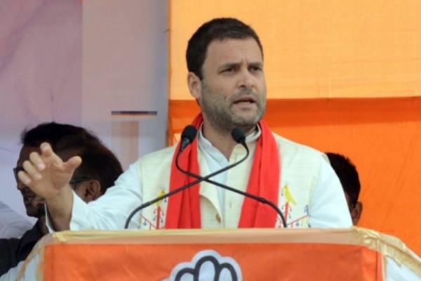 कांग्रेस अध्यक्ष बने राहुल, मोदी पर साधा निशाना