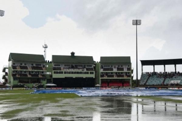 गुयाना टी20 : बारिश की भेंट चढ़ा पाकिस्तान और विंडीज के बीच तीसरा मुकाबला