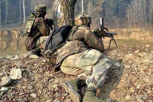 जम्मू एवं कश्मीर मुठभेड़ में 1 आतंकी ढेर, 2 जवान शहीद