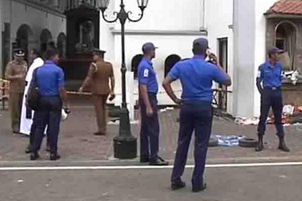 श्रीलंका : 8 बम विस्फोटों में 185 मरे, देश भर में कर्फ्यू लागू