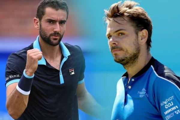 टेनिस : क्वींस क्लब में सिलिक, वावरिंका की विजयी शुरुआत