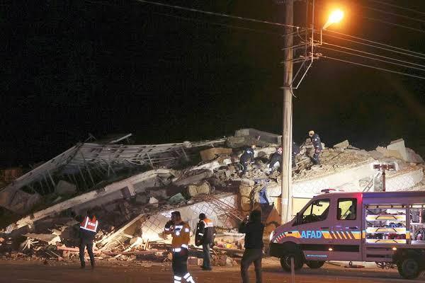 तुर्की में भूकंप से मरने वालों की संख्या 22 हुई
