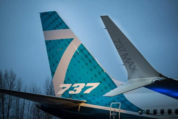 बोइंग 737 मैक्स विमानों की सेवाएं रोकने का कोई आधार नहीं : अमेरिका