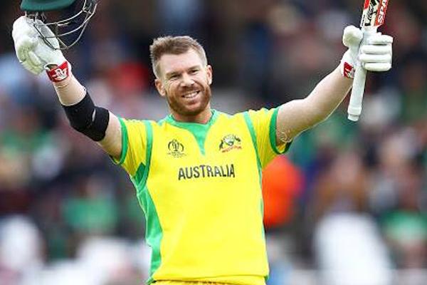 आईसीसी विश्व कप-2019 में सबसे अधिक रन बनाने वाले बल्लेबाज बने वार्नर