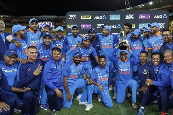 वेलिंग्टन वनडे : भारत ने न्यूजीलैंड को हराकर 4-1 से सीरीज जीती