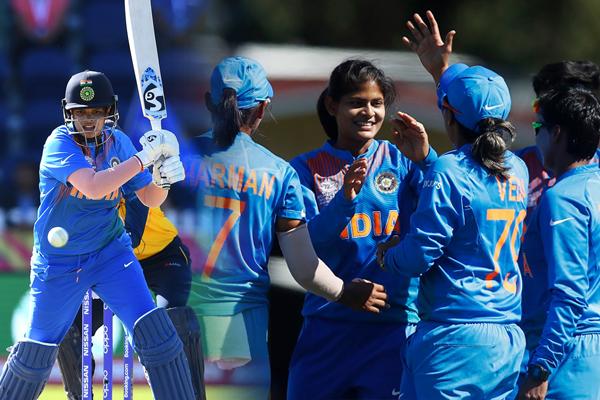 महिला टी-20 विश्व कप: भारत ने लगाया जीत का चौका, फिर चमकीं शैफाली
