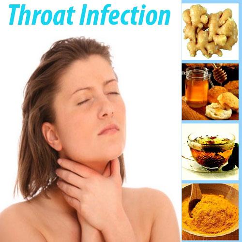 8 घरेलू उपचार गले के संक्रमण के लिए