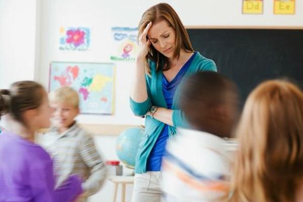 मिडिल स्कूल के 94 फीसद शिक्षकों में रहता उच्च तनाव