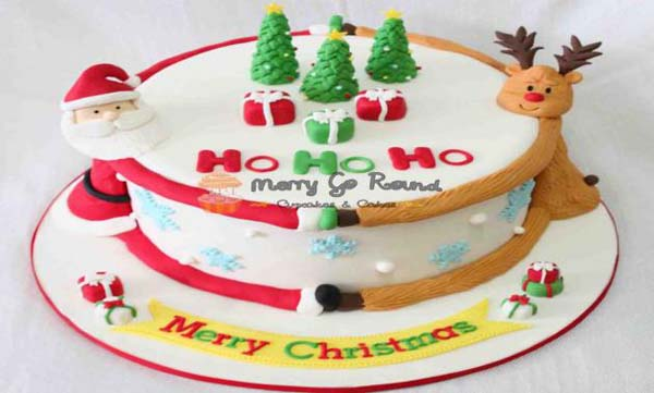 How To Make Xmas Cake In Hindi