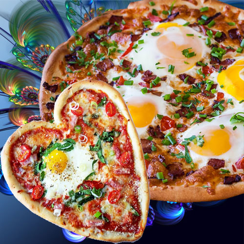 सुबह की पौष्टिक शुरूआत एग पिज्जा के साथ-Egg Pizza Recipe