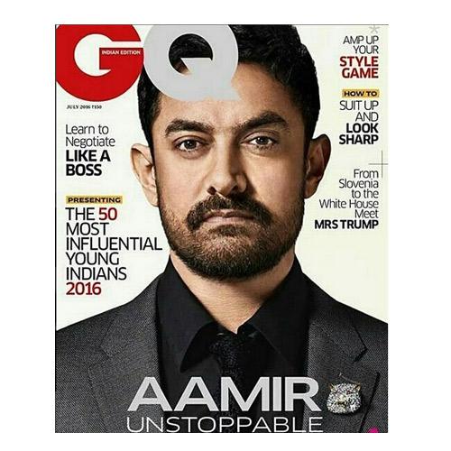 क्या अपने देखा:अब कवर पेज पर आमिर का दंगल