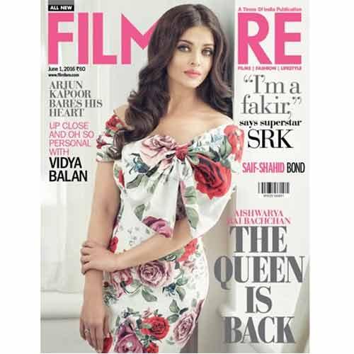 Filmfare कवर girl बनी Aishwarya राय