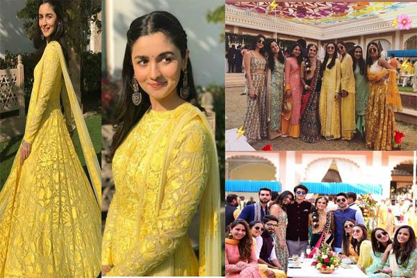 बेस्ट फ्रैंड की शादी में आलिया इस ट्रेडीशनल लुक में आई बेहद खूबसूरत नजर...