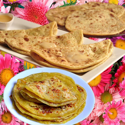 शाही स्वाद में आलू पूरन पोली-Aloo Puran Poli