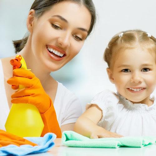 Home की सफाई के 6 Simple टिप्स