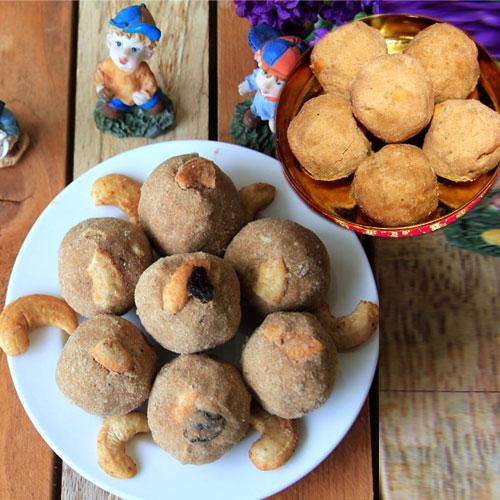 हेल्दी व टेस्टी आटे के लड्डू-Atta Laddu recipe
