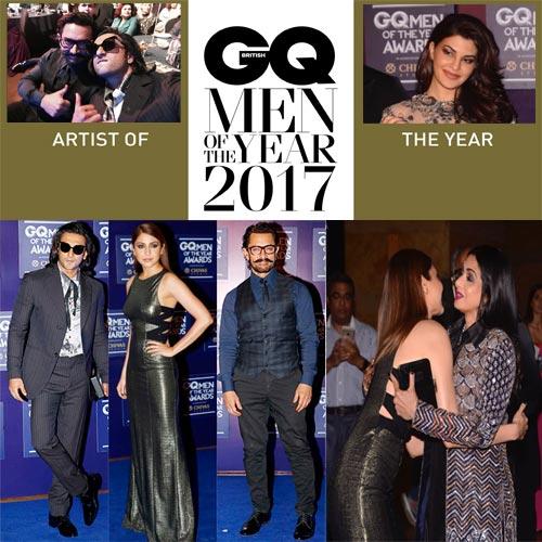 GQ Awards: सितारों का जलवा