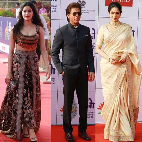 48वें भारतीय अंतररष्ट्रीय फिल्म समारोह में सितारों ने अनोखा....