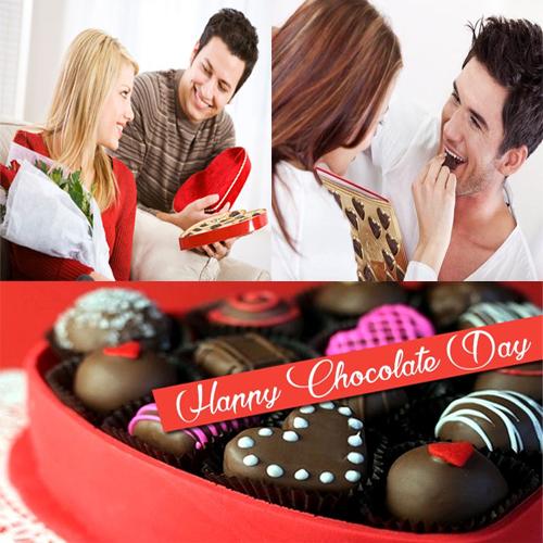 चॉकलेट डे पर रोमांटिक बेस्ट आइडिया
