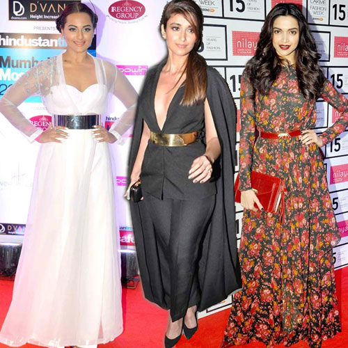 Bollywood Actresses Fashion Style In Belts Fashion Fever Tips In Hindi