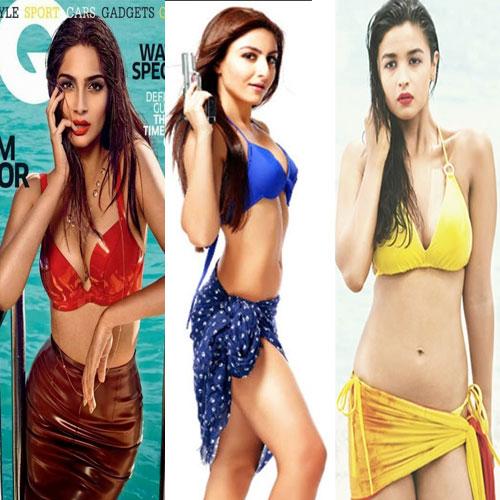 Boolywood की sexy अभिनेत्रियां hot बिकिनी में