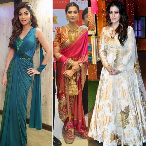 Bollywood की अभिनेत्रियां दिखीं traditional लिबास में