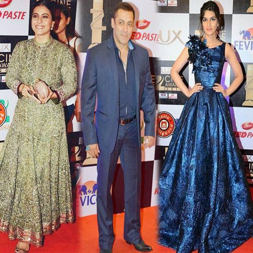 Zee सिनेAwards में रेड Carpet पर Celebrities